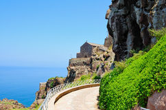 Castelsardo Cathedral Royalty Free Stock Images