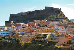 Castelsardo city Stock Image