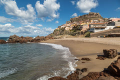 Castelsardo on northern coast of Sardinia Stock Photo