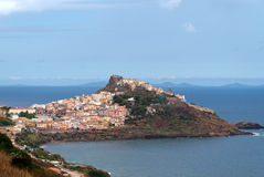 Castelsardo in Sardinia Royalty Free Stock Photo