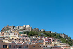 Castelsardo in Sardinia Royalty Free Stock Image