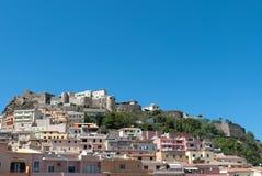 castelsardo Sardinia Obraz Royalty Free