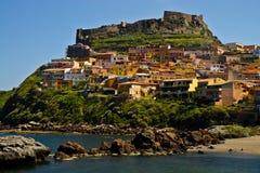 Castelsardo, Sardinien, Italien Lizenzfreies Stockfoto