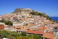 Castelsardo, Sardinige, Italië Stock Fotografie
