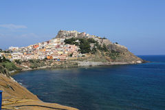Castelsardo town Sardinia Stock Photo