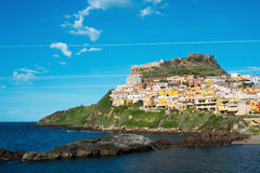 Castelsardo Stock Photo