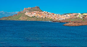 Castelsardo water Stock Photography