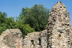 Castelseprio et x28 ; La Lombardie, Italy& x29 ; , zone archéologique Photo stock