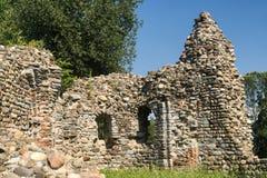 Castelseprio Lombardia, Italia, zona archeologica Fotografia Stock Libera da Diritti