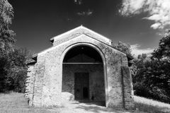 Castelseprio Lombardia, Italia, zona archeologica Immagine Stock