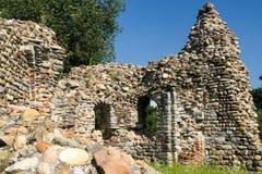Castelseprio Lombardie, Italie, zone archéologique Photos stock