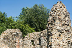Castelseprio u. x28; Lombardei, Italy& x29; , archäologische Zone Stockfoto