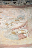 Castelseprio u. x28; Lombardei, Italy& x29; , Malereien in der Kirche Stockbild
