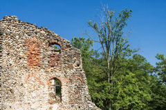 Castelseprio & x28; La Lombardia, Italy& x29; , zona archeologica Fotografia Stock