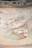Castelseprio & x28; Lombardy Italy& x29; , målningar i kyrkan Fotografering för Bildbyråer