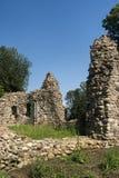 Castelseprio & x28; Lombardy, Italy& x29; , zona arqueológico Fotos de Stock Royalty Free