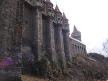 Castelul Corvinilor Hunedoara stockfotos