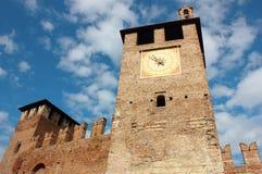 Castelvecchio在维罗纳 库存照片