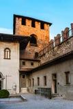 Castelvecchio在维罗纳,北意大利 库存照片