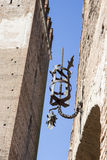 Castelvecchio桥梁在维罗纳意大利 免版税库存照片