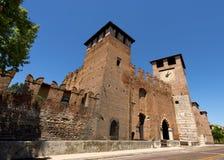 Castelvecchio Верона - Италия (1357) Стоковая Фотография RF