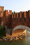 The Castelvecchio Bridge, Verona Stock Image