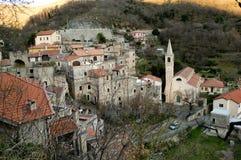 Castelvecchio Di Rocca Barbena Στοκ εικόνα με δικαίωμα ελεύθερης χρήσης