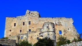 Castelvecchio di rocca barbena (savona)italy royalty free stock image
