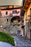 Castelvecchio di rocca barbena (savona)italy Royalty Free Stock Photography