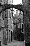 Castelvecchio di rocca barbena (savona)italy Royalty Free Stock Photo