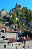 Castelvecchio di rocca barbena (savona)italy Royalty Free Stock Photo