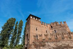 Castelvecchio - Medieval Old Castle - Verona Stock Photos