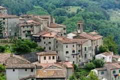 Castelvecchio (Svizzera Pesciatina, Toscana) Fotografie Stock Libere da Diritti