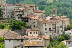 Castelvecchio (Svizzera Pesciatina, Tuscany) Stock Image