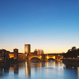 Castelvecchio, Vérone - Italie Photos libres de droits