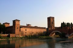 Castelvecchio, Verona Royalty Free Stock Images