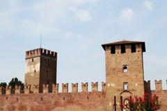 Castelvecchio in Verona, Italien Lizenzfreies Stockfoto