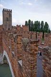 Castelvecchio, Verona, Italien Stockbild
