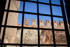 Castelvecchio in Verona, Italy Royalty Free Stock Photography
