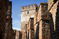 Castelvecchio in Verona, Italy Stock Photography