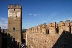 Castelvecchio in Verona, Italy Stock Image