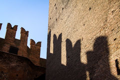 Castelvecchio in Verona, Italy Stock Photos