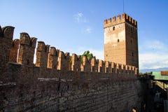 Castelvecchio in Verona, Italy Royalty Free Stock Images
