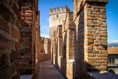 Castelvecchio in Verona, Italy Stock Photography