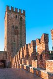 Castelvecchio in Verona, Northern Italy Royalty Free Stock Images