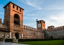 Castelvecchio in Verona, Northern Italy Royalty Free Stock Photography