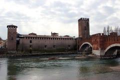 Castelvecchio in Verona Stock Photos