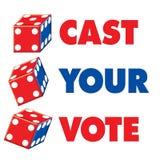casten röstar ditt Royaltyfri Foto