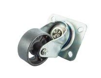 Caster steel wheels Stock Image