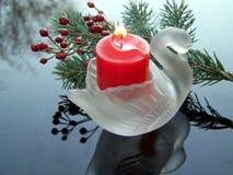 Castiçal da cisne Foto de Stock Royalty Free